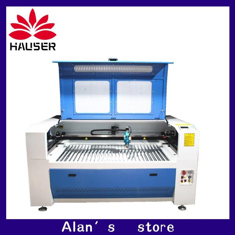 HCZ 130 W 150 W métal laser cutter machine 1390 CO2 laser machine de gravure métal CW5200 refroidisseur pour acier au carbone en acier inoxydable