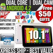 Free Shipping BoDa brand tablet pc 10.1 inch 2G+8GB ANDROID 4.4 HD  QUAL CORE DUALCAM CAPACITIVE TOUCH usb flash  mini pc