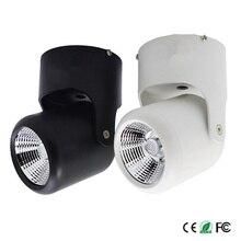 COB 20 Вт Светодиодный прожектор поверхностного монтажа пятно светодиоидное освещение 360 градусов Регулируемая+ AC110/220 V Драйвер 16 шт./лот