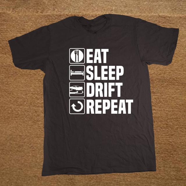 """""""Eat Sleep Drift""""  Racer T-Shirt"""