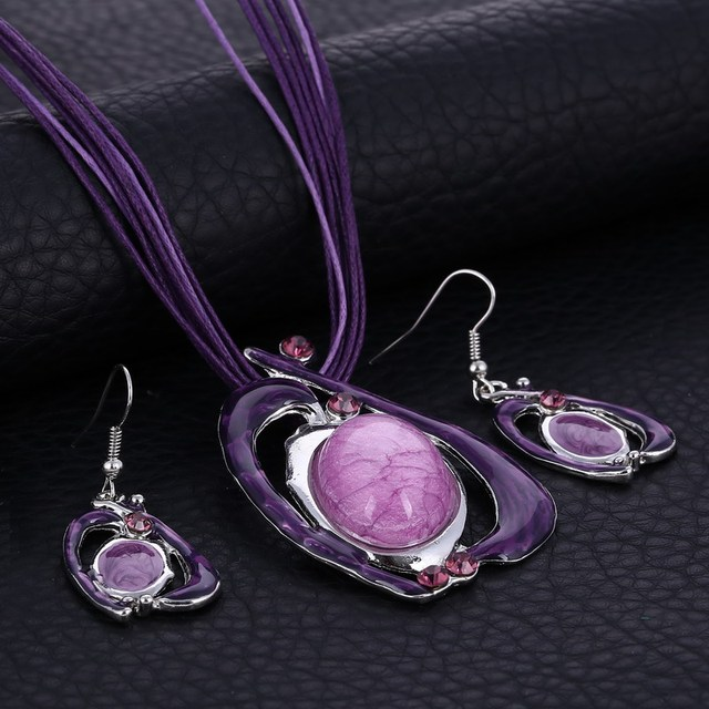 Fashion Jewelry Set 4 Colors