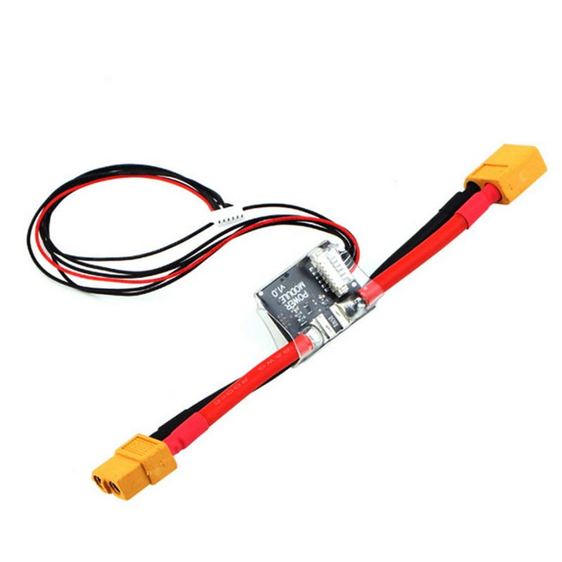 Free Shipping APM Power Module 5.3V DC BEC XT60 Connectors for ARDUPILOT APM 2.5.2 APM 2.6 Pixhawk