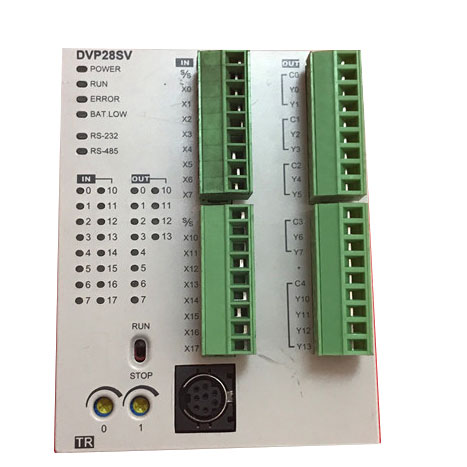 DVP28SS211R Original Brand New Delta SS2 series PLC 24VDC 16DI 12DO Relay xw2b 40j6 9a plc servo relay units original brand new