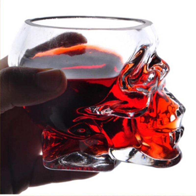 جديد الإبداعية الجمجمة البيرة القراصنة زجاج بلدي زجاجة المياه بلدي زجاجة أداة تشخيصية الملحقات النبيذ الزجاج فازو الزجاج المزدوج