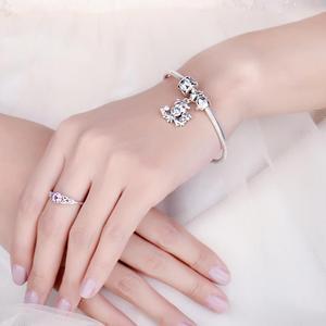 Image 4 - JewelryPalace البومة الأسرة 925 فضة الخرز Charms الفضة 925 الأصلي لسوار الفضة 925 الأصلي صنع المجوهرات
