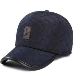 VORON new Warm Winter Baseball Cap Men Ear Protection Gorro hats brand Snapbak Solid Bone Baseball cap Men Winter Warm for Men