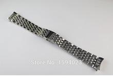 20mm Partes de Relojes vigor Locke T41 correa Correa L264 de striptease masculino reloj de pulsera de acero Inoxidable Sólido