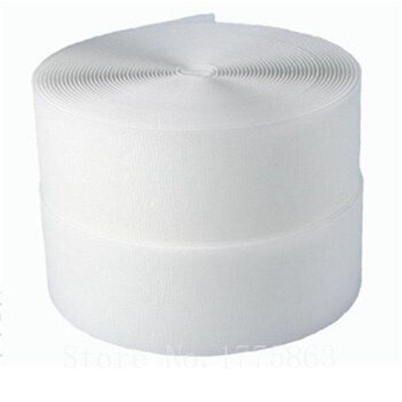 Белая пришивная лента для крючков и петель, 5 ярдов, 2 дюйма, 50 мм, AA7311