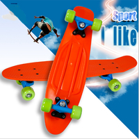 3 Pastel Color Four wheel 22 Inches Mini Cruiser Skateboard Street Long Skate Board Outdoor Sports For Adult or Children