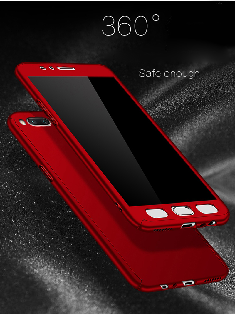 Luxury 360 Degree Hard PC Hybrid Armor Glass Case For Huawei Mate 20 10 P20 Lite 20X P20 Pro P20Lite Mate20 ShockProof Cover (3)