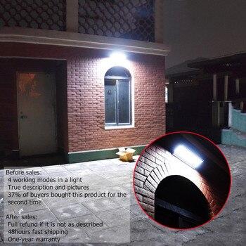 LED Solar Light Radar Motion Sensor  5