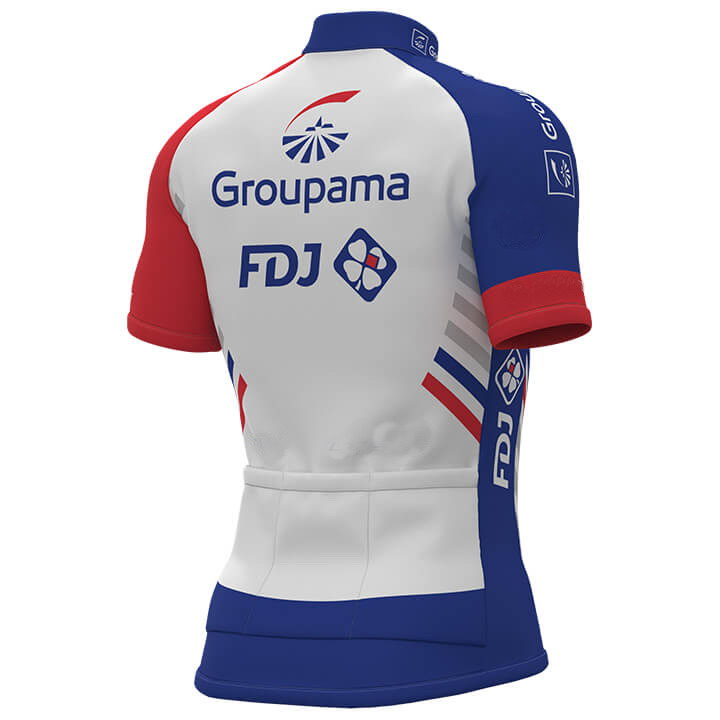 2018 Groupama Fdj Pro Team Men Cycling Jersey Short Sleeve Bicycle Clothing  With Bib Shorts Quick Dry Riding Bike Ropa Ciclismo-in Cycling Sets from  Sports ... 7281e0be2