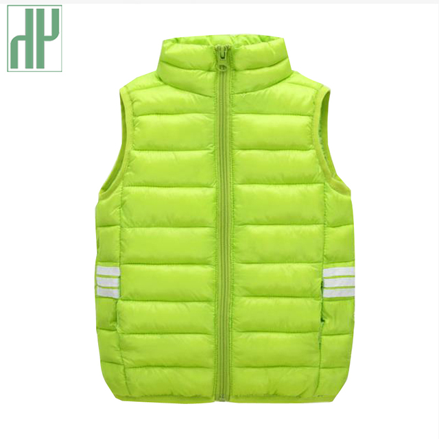0e9c0439a HH kids vests Down Cotton Children Vest Winter Spring Warm ...