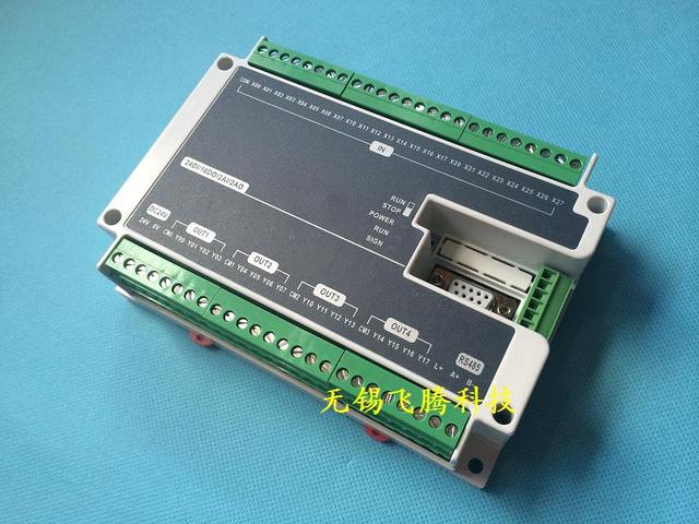 US $99 0 |FX1N FX2N FX3U 40MR 24DI 16DO 2AD 2DA Analog for Mitsubishi PLC  stepper motor controller RS485 Modbus High Speed Pulse Output-in Demo Board