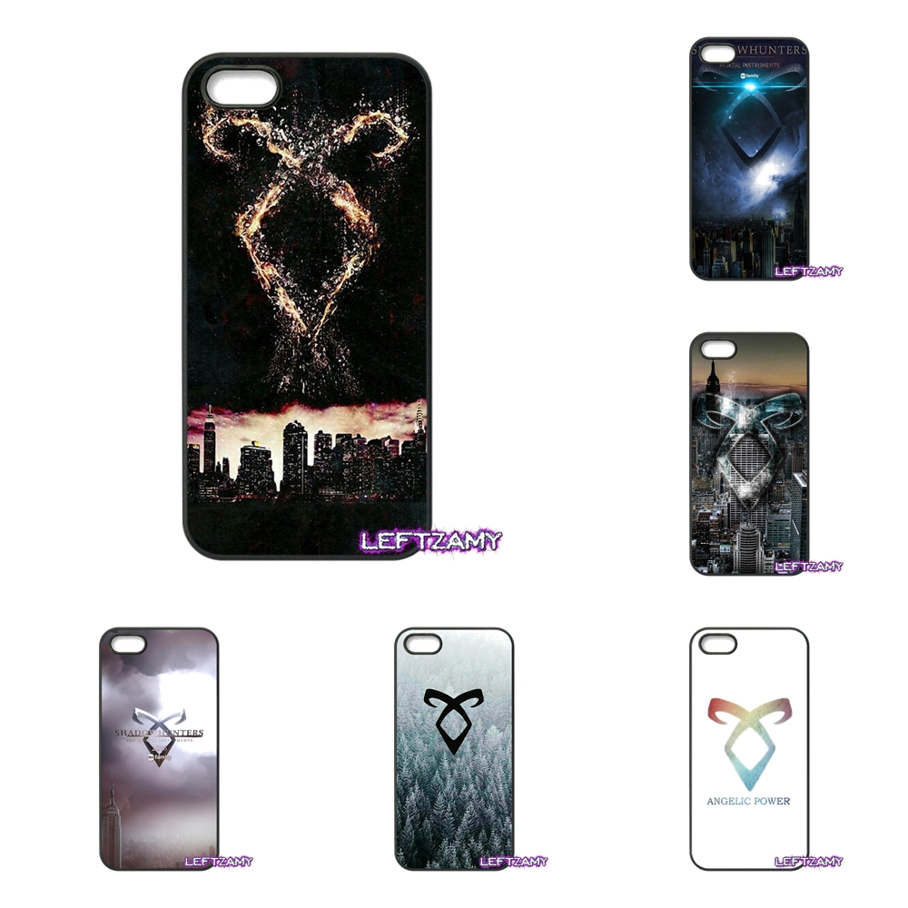 For Lenovo A2010 A6000 S850 K3 K4 K5 K6 Note Samsung Galaxy J1 J2 2015 2016 The Shadowhunter Runes Logo Cell Phone Case Cover