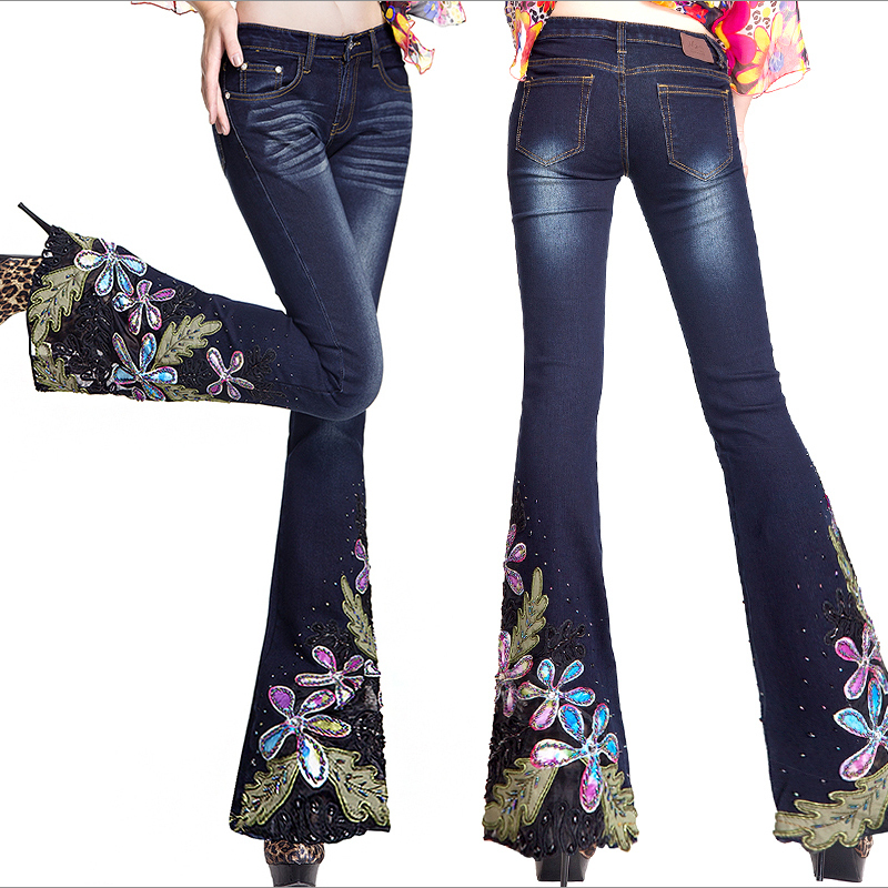 Aliexpress.com : Buy Autumn Winter Womens Fashion Embroidered ...