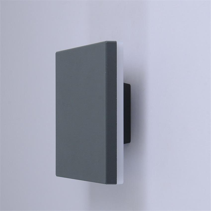 prova dagua luminaria quadrada de parede para 05