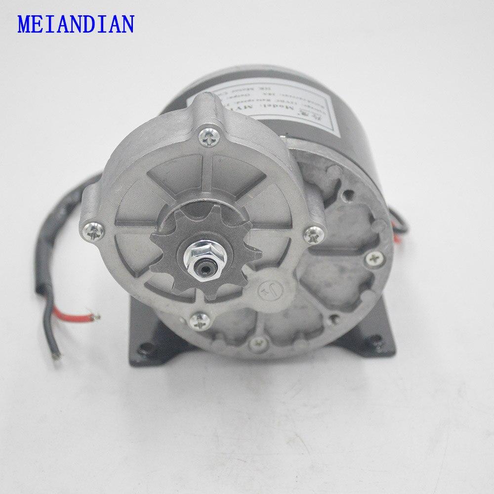 12 v 24 v 250 watt Pinsel DC Getriebe Motor MY1016Z Elektrische Fahrrad Motor MTB Fahrrad/Roller Ebike Gebürstet motor Elektrische Fahrrad Zubehör