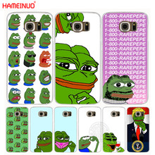 HAMEINUO Internet Meme Smug Frog Pepe cell phone case cover for Samsung Galaxy Note 3,4,5 E5,E7 ON5 ON7 grand prime G5108Q G530(China)
