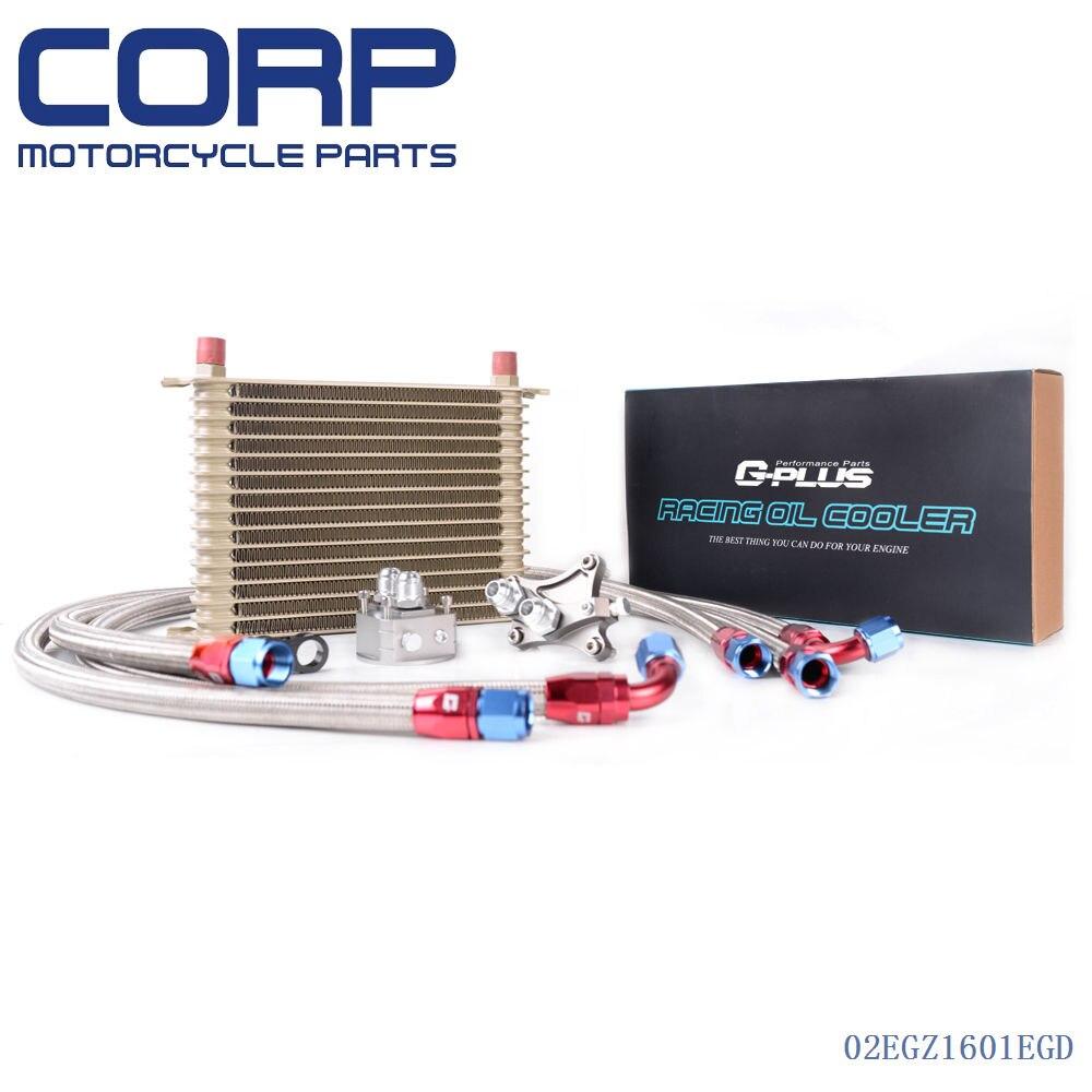 15 ROW OIL COOLER KIT FOR NISSAN Silvia S13 S14 180SX 200SX 240SX SR20DET TURBO