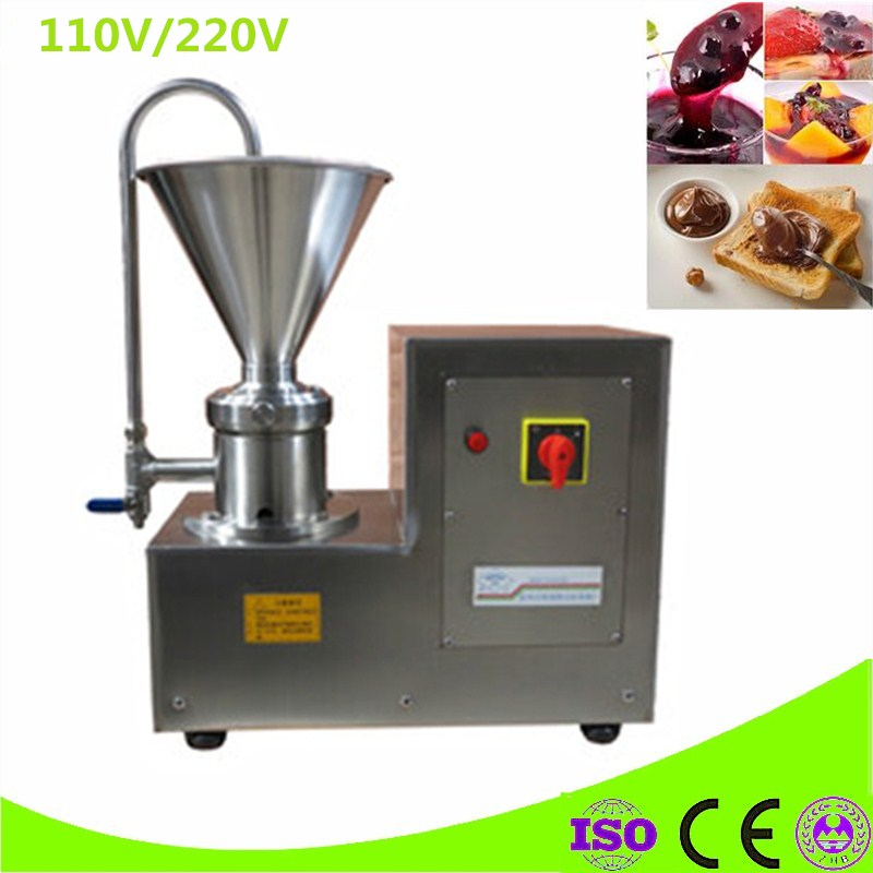 Commercial Use 2.5L Peanut Butter Maker Peanut Maker Machine Nut Butter Grinder Machine Maker Sesame Grinding Machine colloid mill grinder peanut butter maker machine sesame paste grinder nut butter making machine