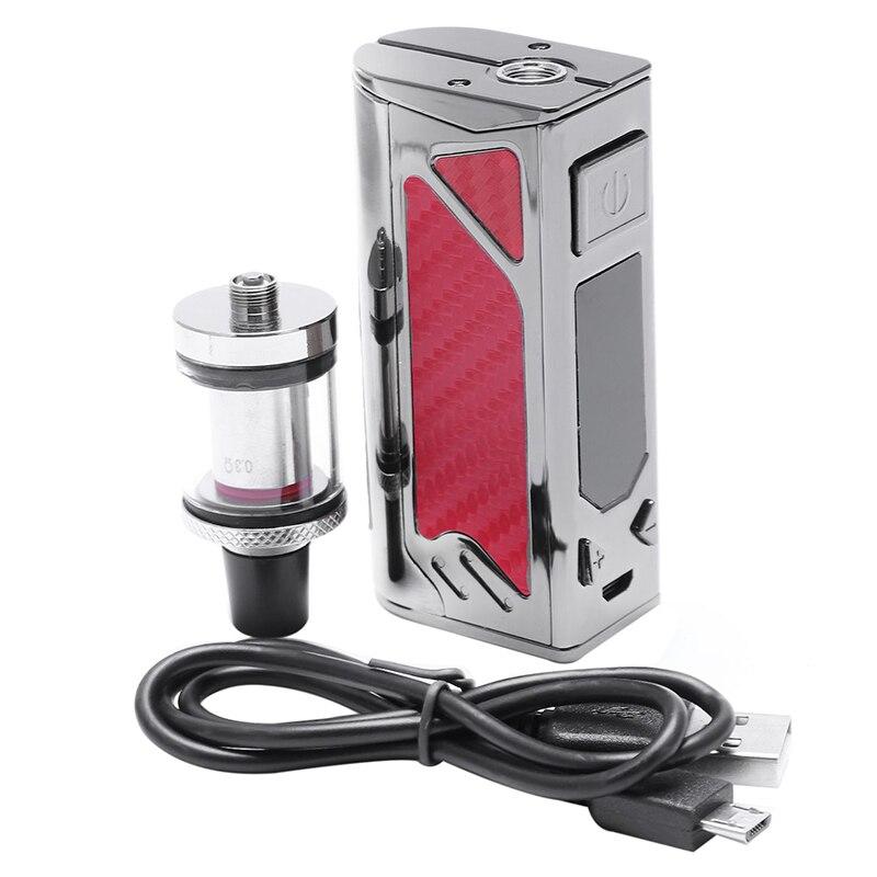 100 w Cigarette Électronique Starter Kit 2200 mah Batterie Intégrée 3.5 ml Réservoir 0.3ohm Atomiseur 510 Fil Haut D'admission D'air vaporisateur