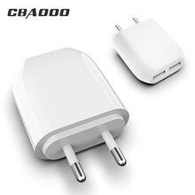 CBAOOO USB Charger for iPhone X 8 7 iPad EU Fast Mobile Phon