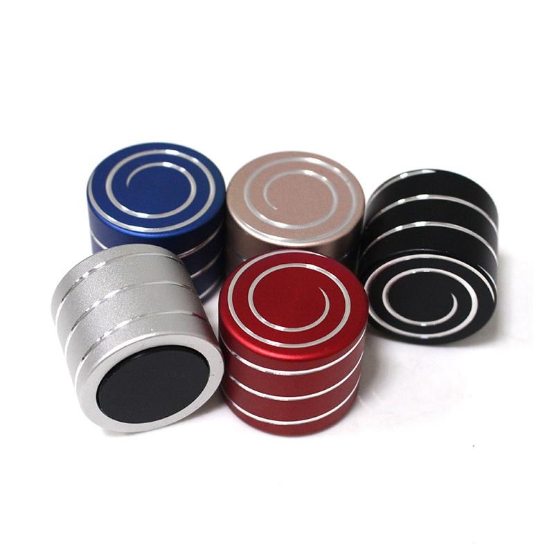 5 stücke Metall Desktop Fingertip Fidget Spinner Gyro Dekompression Artefakt Hypnotischen Illuson Vortecon Rotierenden Artefakt Spiner Spielzeug