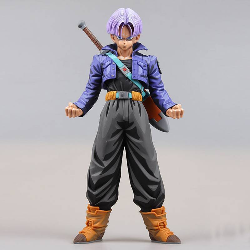 Dragon Ball Z Trunks Action Figure Anime Limited Ver. Trunks Doll PVC figure Toy Brinquedos Anime 25CM ynynoo to love darkness yuuki mikan action figure wedding dress underwear ver mikan yuuki pvc figure toy brinquedos anime 24cm