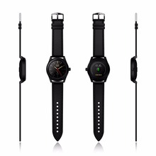 Original CACGO K89 Bluetooth 4.0 Heart Rate Monitor Smart Watch with Three-axis Accelerometer, Loudspeaker, RAM 128MB