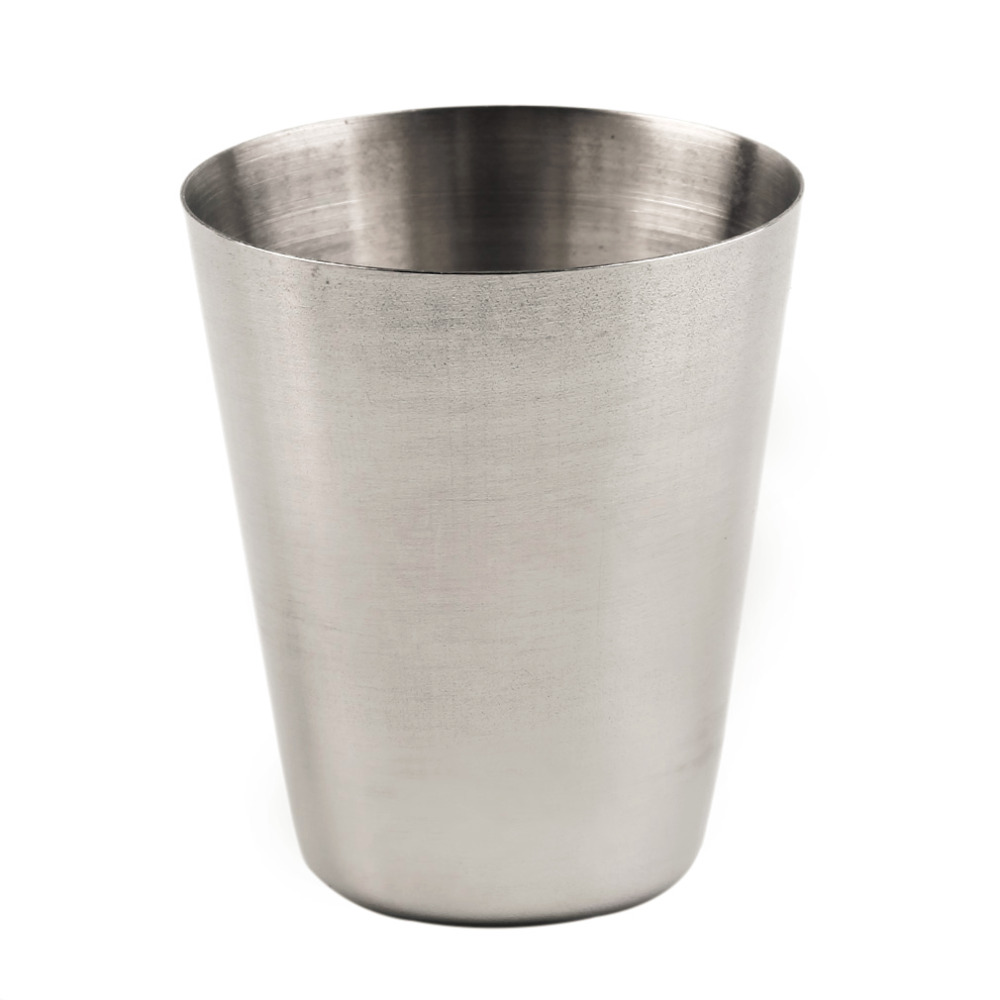 Image 5 - 1 Set of 4 Stainless Steel 30ML, 70ML, 180ML Camping Cup Mug Drinking Coffee Tea With Case Popular New-in Outdoor Tablewares from Sports & Entertainment