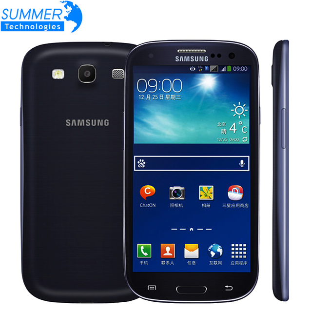 original unlocked samsung galaxy s3 i9300 i9305 4g lte cell phones android quad core refurbished. Black Bedroom Furniture Sets. Home Design Ideas
