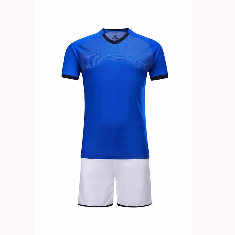 5ba29e401 ... Kids blank v neck short sleeve soccer jerseys youth football jerseys  boys plain soccer uniforms customize
