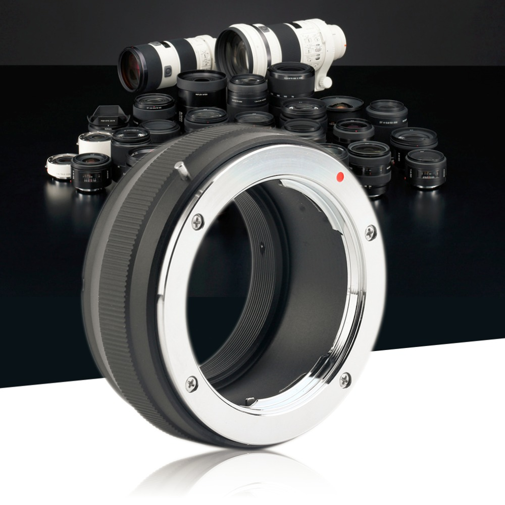 Professional MD-NEX Lens Adapter Ring to For Sony NEX-3 NEX-C3 for SONY NEX-F3 Manual Adjustment