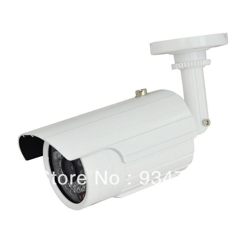 CCTV 700TVL CCD EFFIO 6mm Lens 48 PCS LEDs IR Waterproof Bullet Day Night Camera lab 302f 6mm lens 1 3 high definition ccd 800tvl surveillance cctv camera w 6 ir leds