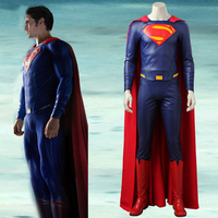 Justice League Superman Clark Kent Cosplay Costume Suit Superman Costume Halloween Carnival Costume Cosplay Men