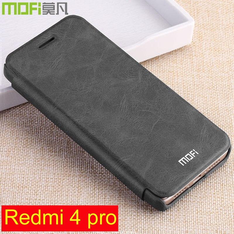 Redmi pro 4 caso di cuoio di vibrazione xiaomi redmi4 pro prime 32 gb hard copertura posteriore 64 gb portafoglio qtp redmi 4pro xiaomi redmi pro 4 caso