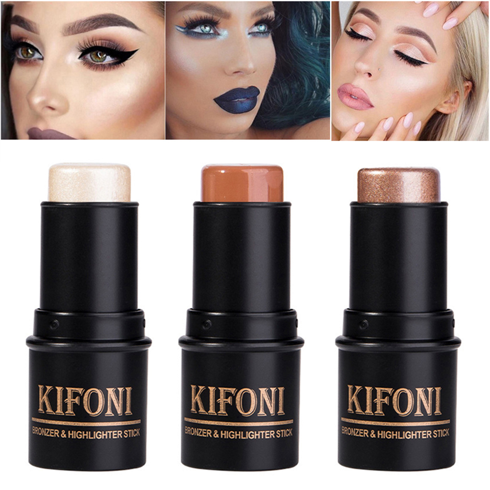 3D контурная палочка для макияжа, водостойкая консилер для лица, светящаяся осветляющая палочка, косметика, бронзатор и хайлайтер TSLM1|Консилер|   | АлиЭкспресс