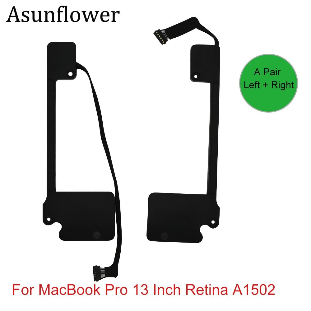 Asunflower Left Right Speaker For Apple MacBook Pro 13 Inch Retina A1502 923-0557 923-00509 Internal Speakers 2013 2014 2015Asunflower Left Right Speaker For Apple MacBook Pro 13 Inch Retina A1502 923-0557 923-00509 Internal Speakers 2013 2014 2015