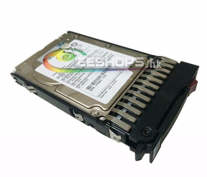 New for HP Server ProLiant ML350 G6 ML370 G5 300GB 10K 6GB SAS SFF 2.5 Inch Dual Port HDD Hard Disk Drive + Carrier Tray Case sas festplatte 300gb 10k sas dp sff 492620r b21