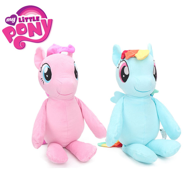 467d6276aa5 12inch Movie My Little Pony Toys Friendship is Magic Plush Toy Pinkie Pie  Rainbow Dash Soft Stuffed Animal Dolls Peluche bebe