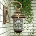 Водонепроницаемый алюминиевый литой светильник для крыльца  Уличный настенный светильник  не ржавеющий  старинный  садовый  для прохода  ул...