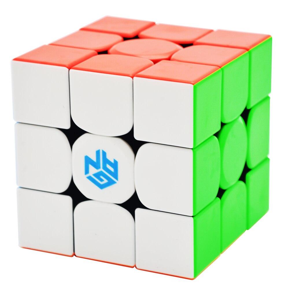 GAN354M 3x3x3 cubo mágico Stickerless con magnético Gan 354 m velocidad del rompecabezas para WCA profesional cubo Magico Gan 354 m Juguetes