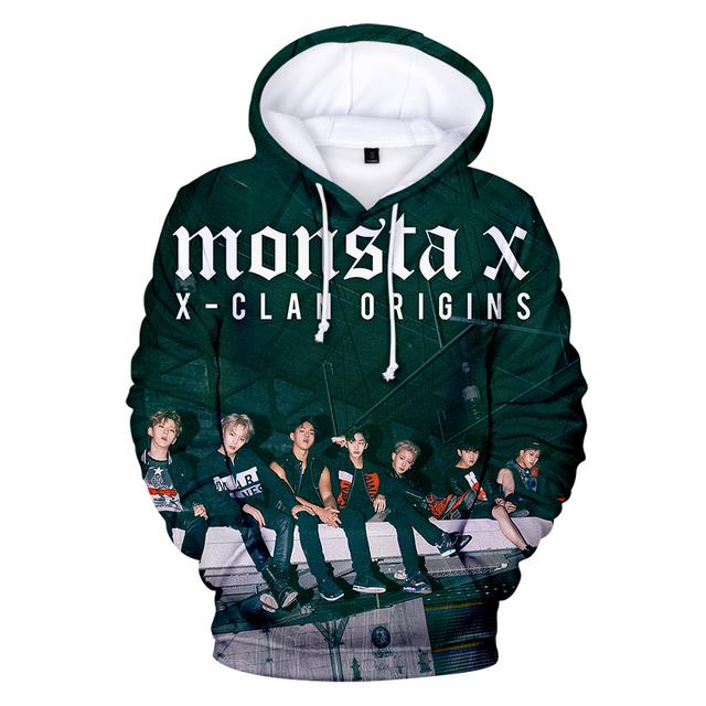 MONSTA X 3D HOODIE (9 VARIAN)
