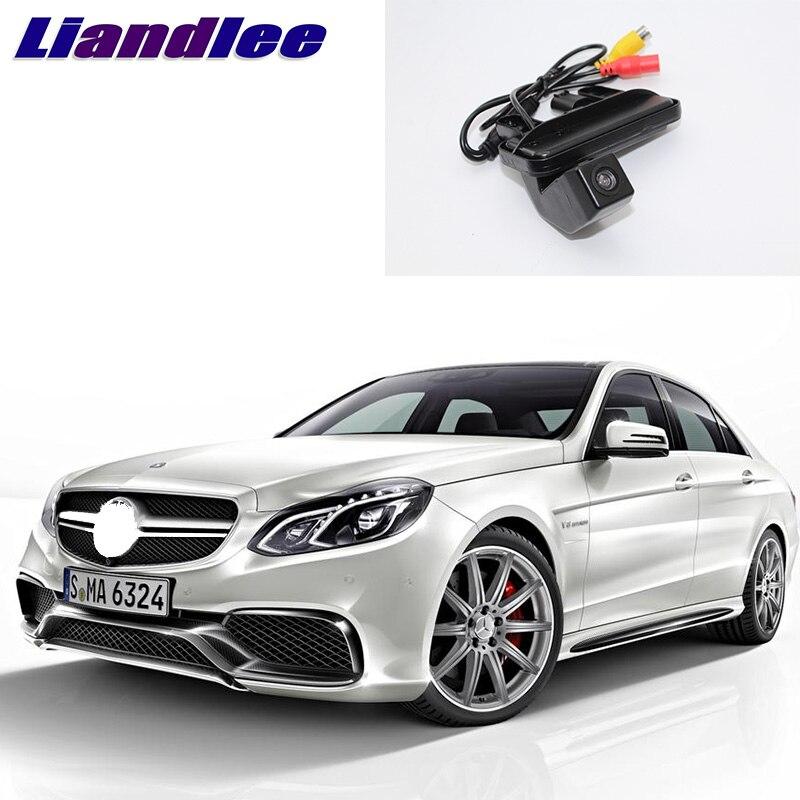 LiandLee Coffre De Voiture Poignée Vue Arrière Inverser Parking Caméra Pour Mercedes Benz Classe E MB W212 C207 E200 E260 E300 E350
