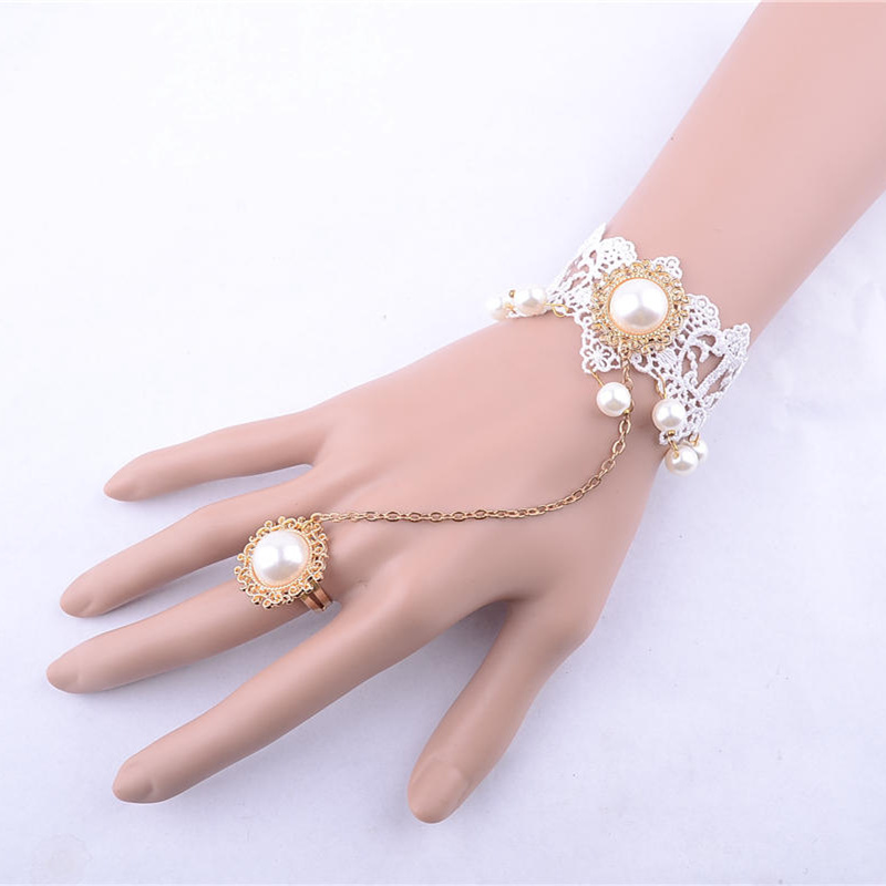 Pearl new gold bracelet designs infinity bracelet wholesale