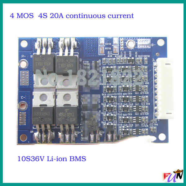 Detail Feedback Questions about 4S 20A 16 8V TO 10S 36V BMS