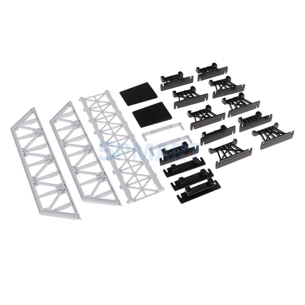 Modele kolejowe pociągi HO skala części akcesoria budynki tunele mosty
