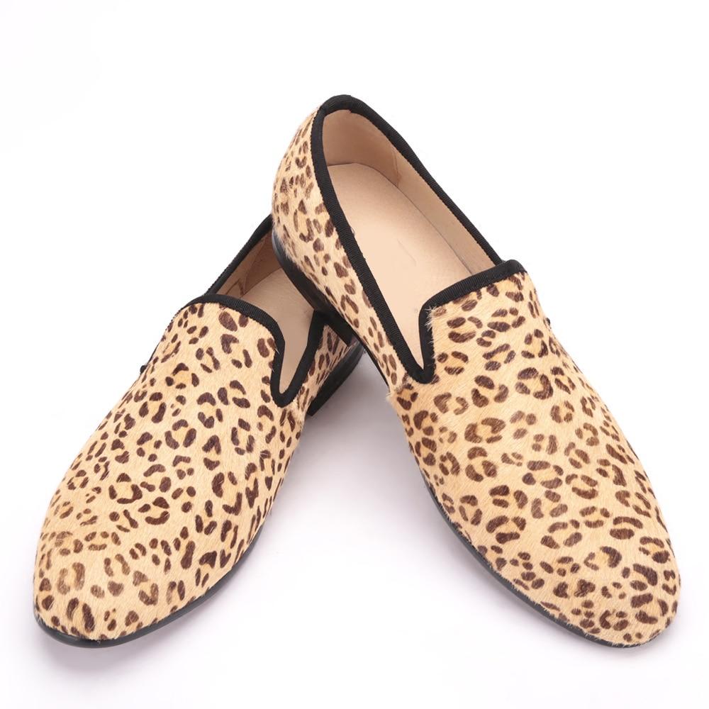 Los Europa Zapatos Unidos Hombres De Banquete Leopardo Y Estados Fiesta Vaca Cuero Multiple qwAHng