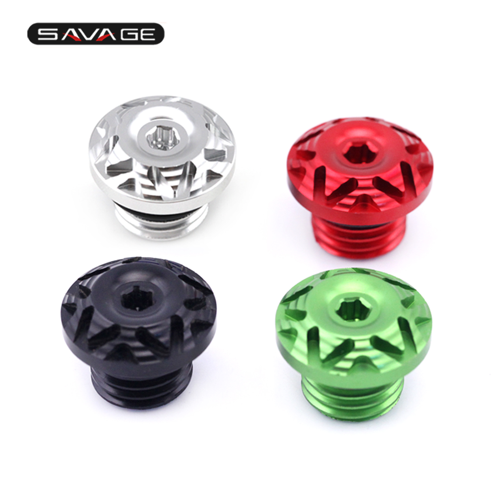 Engine Oil Filler Screw Cap For KAWASAKI Z650 Z800 Z900 Z1000 Z1000SX ER6N ER6F Motorcycle Accessories CNC Aluminum bjmoto 7 colors for kawasaki z750 z800 z900 z1000 cnc aluminum rear brake fluid reservoir cover cap